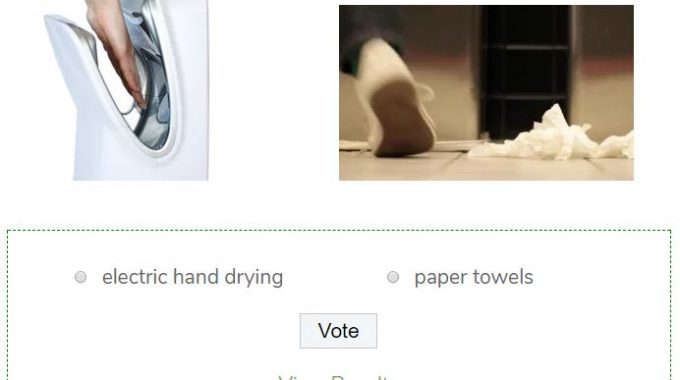 Poll: Which One Is More Hygienic?