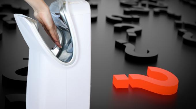 QUIZ: Was Wissen Sie über Elektrische Händetrockner?