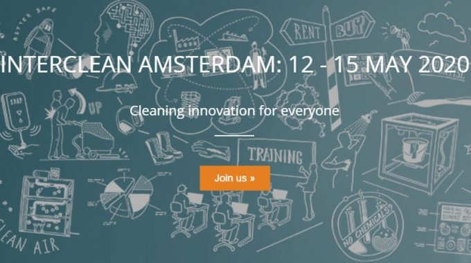 Interclean 2020 In Amsterdam Starts In 10 Months