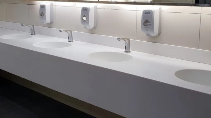Sanitary Health And Safety In The Bathroom Stays On Top Of The Agenda